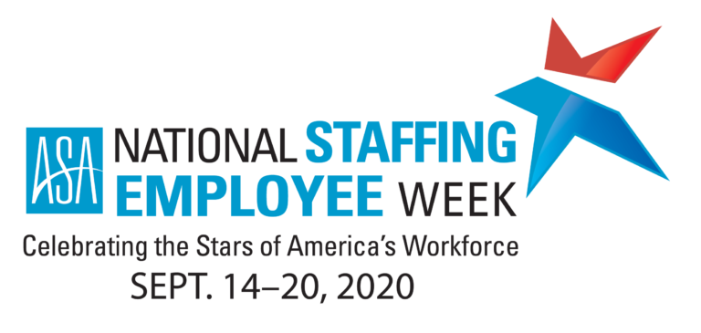 September 14th-20th is National Staffing Employee Week